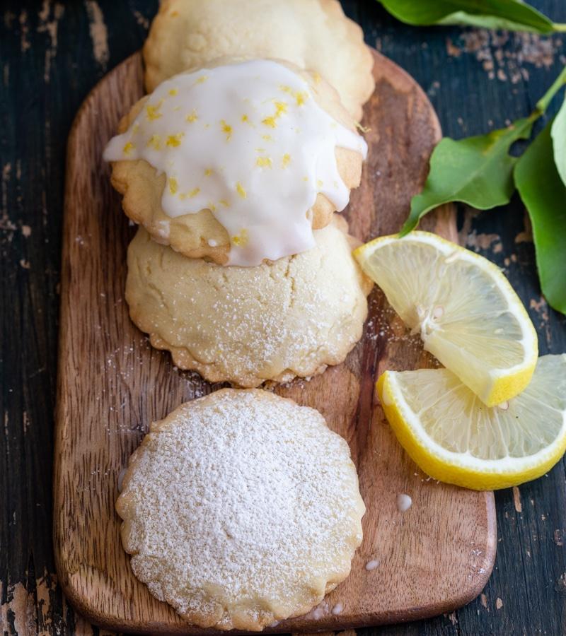 Итальянское печенье с начинкой из лимона