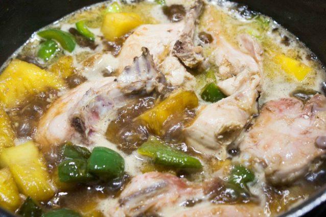 гавайский цыпленок