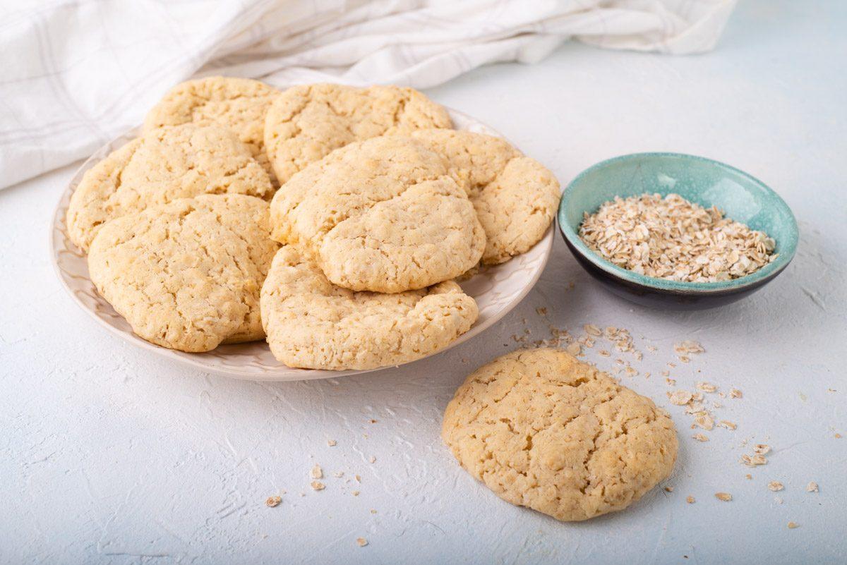 Рецепт овсяного кокосового печенья