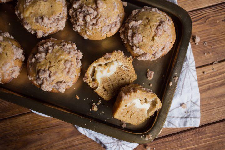 Рецепт маффинов с тыквенным кремом и сыром